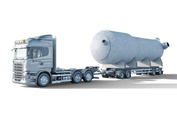 RR SMR truck
