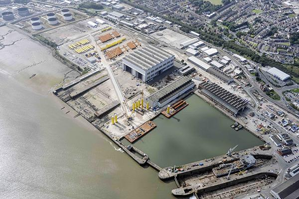 Cammell Laird aerial