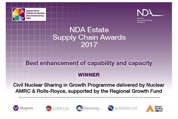 NDA awards 2017