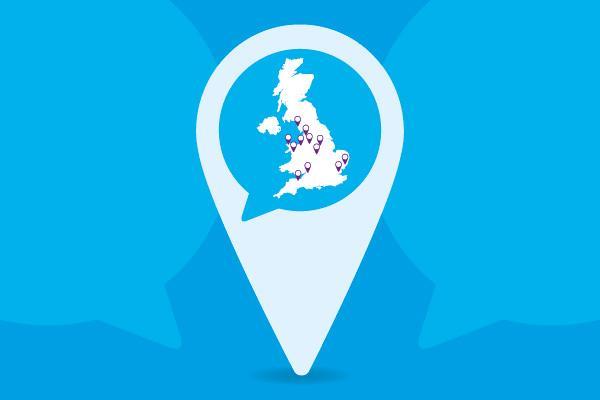 consultation map