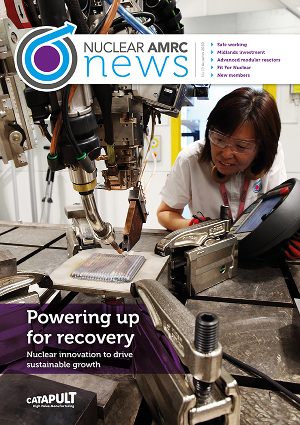 Cover of latest newsletter