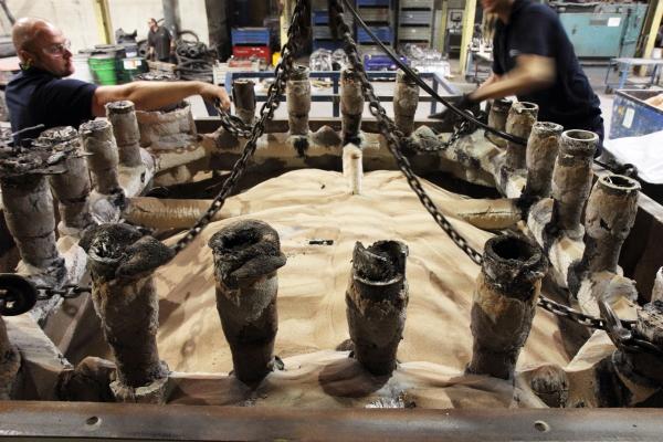 3m3 casting lift